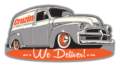 Cruzin Sticker - We Deliver