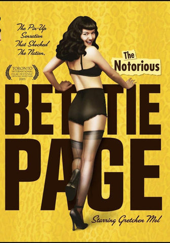 The Notorious Bettie Page DVD