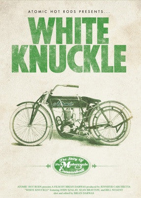 White Knuckle: The Story of The Motorcycle Cannonball DVD