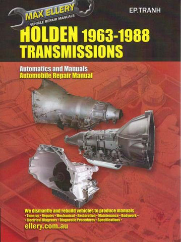 Holden Transmission Repair Manual