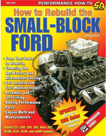 How To Rebuild The Small Block Ford (Windsor)