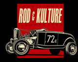 Traditional Rod & Kulture Illustrated 'Roadster' Tee