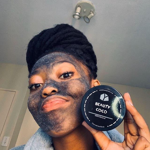 Activated Charcoal Face Scrub & Mask Combo