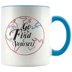 Go Find Yourself Mug