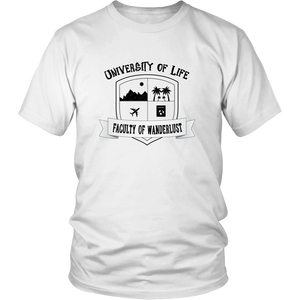 University of Life - Men's T-Shirt (white)