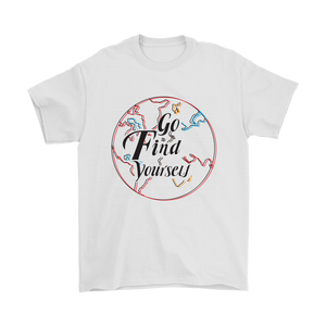 Go Find Yourself - Men's T-Shirt (white)