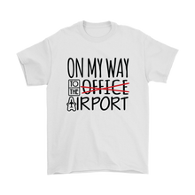 Load image into Gallery viewer, On My Way to the Airport - Men's T-Shirt (white)
