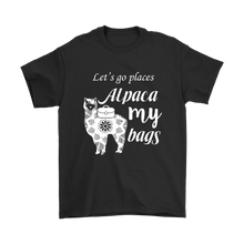 Load image into Gallery viewer, Alpaca My Bags - Men's T-Shirt (black)