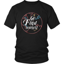 Load image into Gallery viewer, Go Find Yourself - Men's T-Shirt (black)