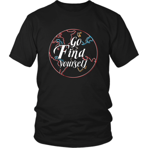 Go Find Yourself - Men's T-Shirt (black)