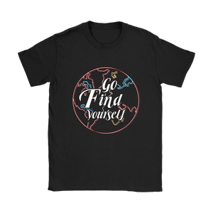 Go Find Yourself - Women's T-Shirt (black)