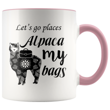 Load image into Gallery viewer, Alpaca My Bags Mug