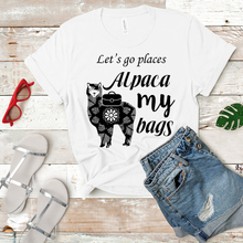 Load image into Gallery viewer, Alpaca My Bags - Women's T-Shirt (white)