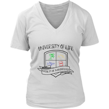 Load image into Gallery viewer, University of Life - Women's T-Shirt (white)
