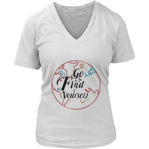 Go Find Yourself - Women's T-Shirt (white)