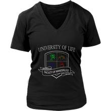 Load image into Gallery viewer, University of Life - Women's t-Shirt (black)