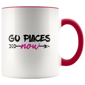 Go Places Now Logo Mug