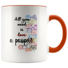 Load image into Gallery viewer, All You Need is a Passport Mug
