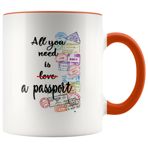 All You Need is a Passport Mug