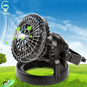 2-IN-1 Camping Lighten Fan