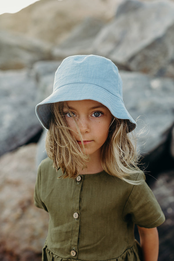 Bucket Hat | Mediterranean Blue