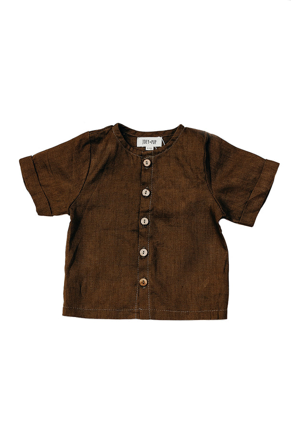 Dune Shirt | Walnut