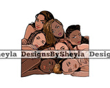 Women Empowerment Togetherness Clipart SVG