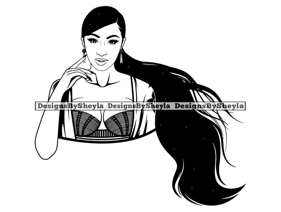 Woman Clipart SVG