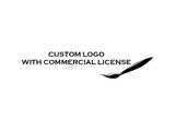Custom Logo With Commercial License Cutting and Printing SVG PNG JPG Clipart Vector