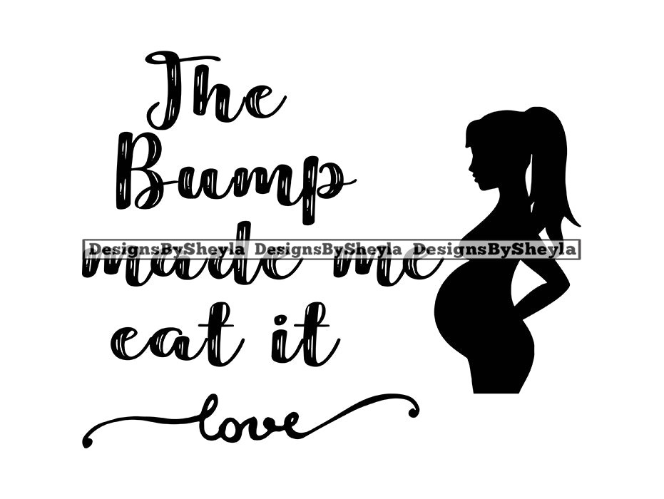 Pregnancy Quote Clipart Vector