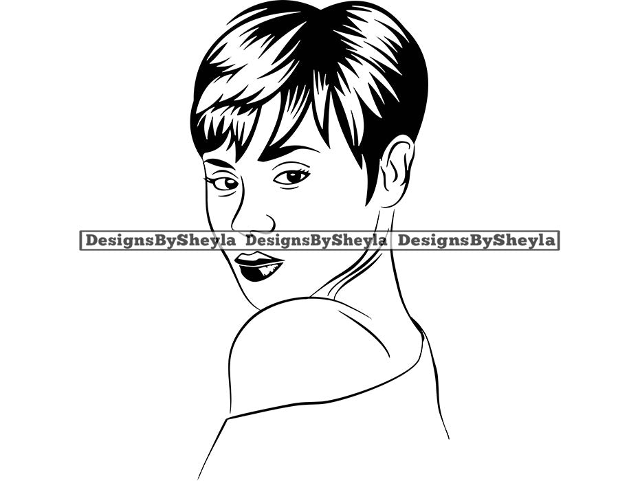 Woman Vector Clipart