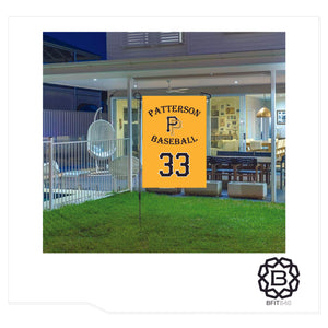 PATTERSON PIRATES GARDEN FLAG