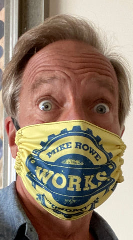 Mike Rowe Rectangle Mask