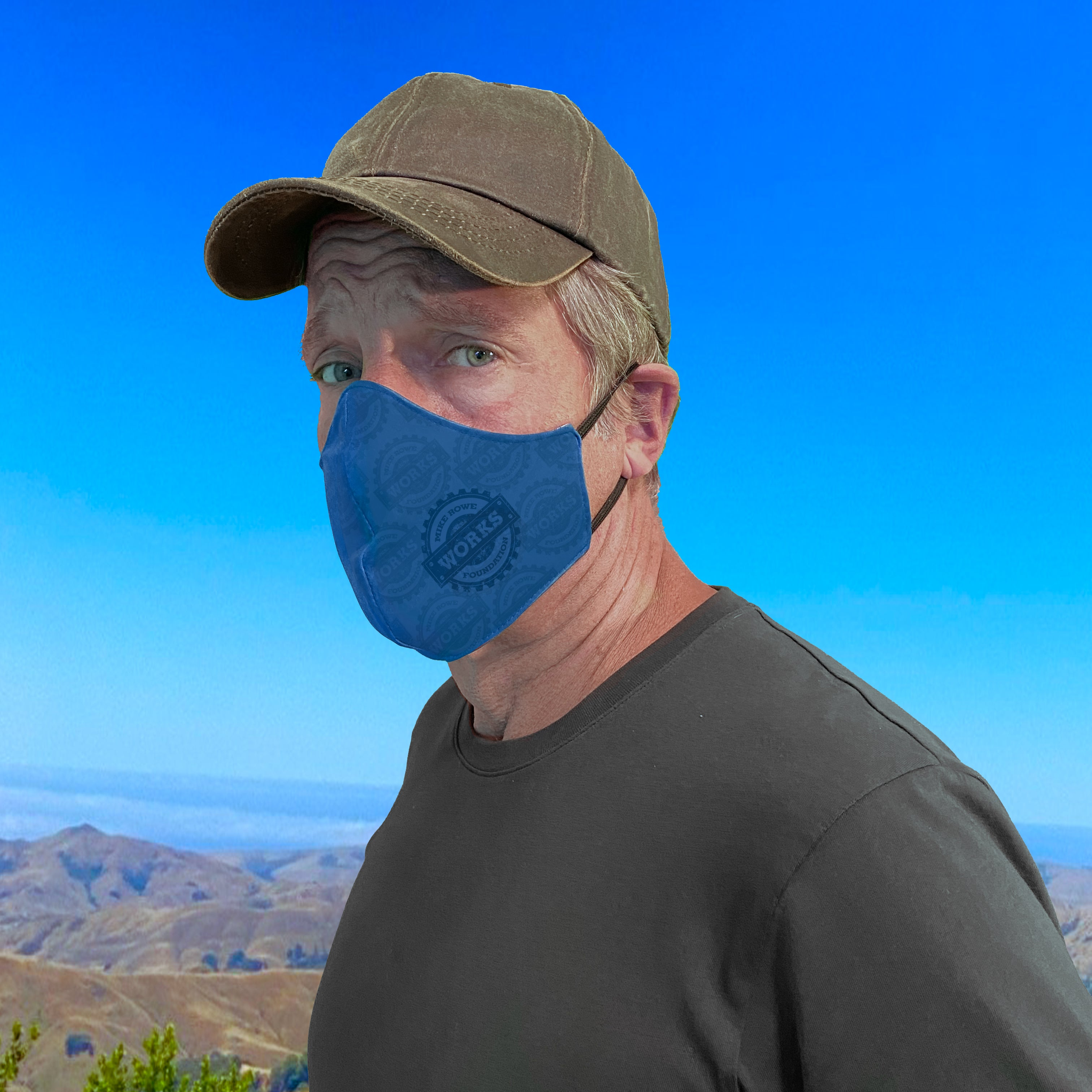 mikeroweWORKS Face Mask