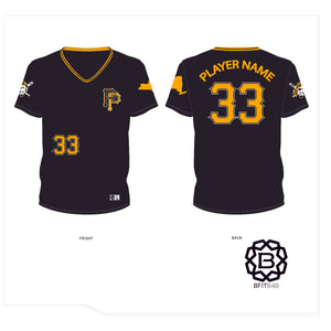 PATTERSON PIRATES JERSEY BLACK