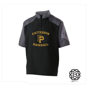 PATTERSON PIRATES SHORT SLEEVE BATTING CAGE JACKET