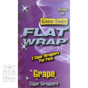 Flat Wraps Grape