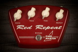 USED - Carl Martin Red Repeat Delay Pedal