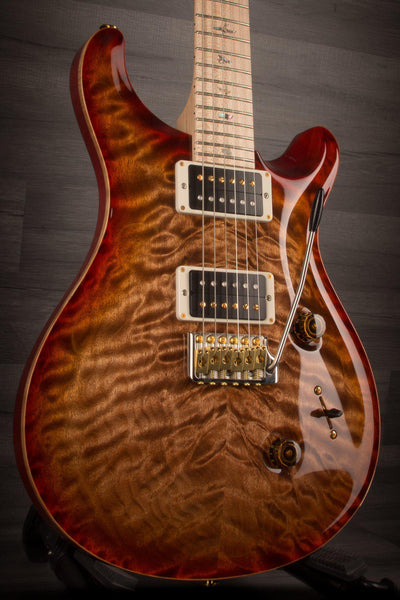 PRS Custom 24 10 Top Quilt, Autumn Sky, Maple Neck S#242581