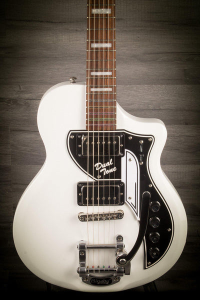 Supro David Bowie Ltd Edition Dual Tone - Arctic White