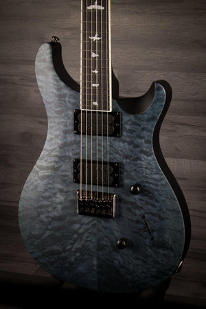 PRS SE Mark Holcomb Limited Edition Satin Whale Blue Quilt