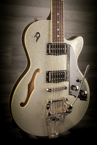 Duesenberg Starplayer Tv In Silver Sparkle With Hard Case