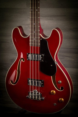 Aria TAB Classic Wine Red - MusicStreet