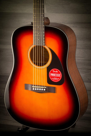 Acoustic Guitar - Fender CD60 V3 - Sunburst