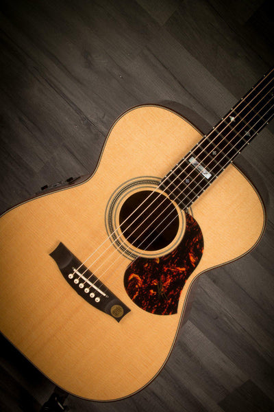 Acoustic Guitar - Maton EM100 808 Messiah