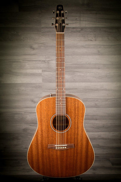Acoustic Guitar - Seagull S6 Mahogany Deluxe AE