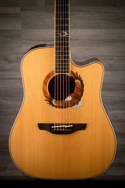USED - Takamine 2003 Limited Eagle Electro Acoustic Guitar