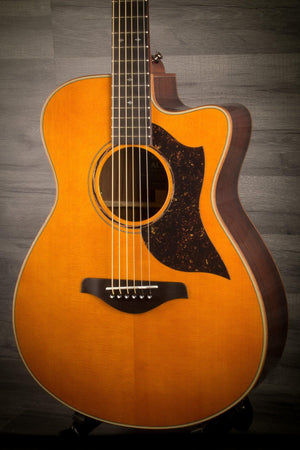 Acoustic Guitar - Yamaha AC5R ARE Acoustic Guitar - Vintage Natural
