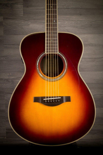 Acoustic Guitar - Yamaha LS TA Brown Sunburst