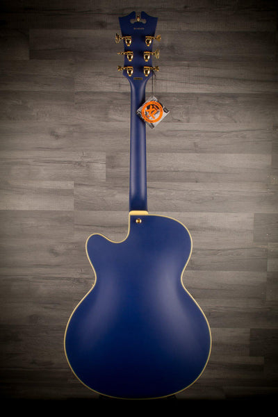 Archtop - D'Angelico Deluxe 175 Matte Royal Blue